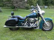2004 - Harley-Davidson Road King Custom Luzury Teal